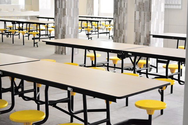 Dheensay Cafeteria Folding Tables Canteen Tables